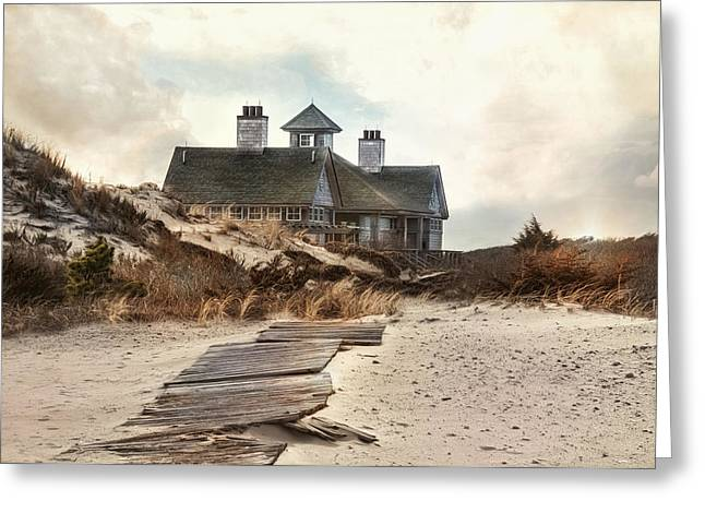 Driftwood Greeting Card by Robin-Lee Vieira