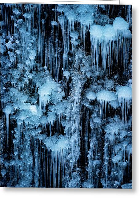 Dripping In Diamonds Greeting Card by Darren White