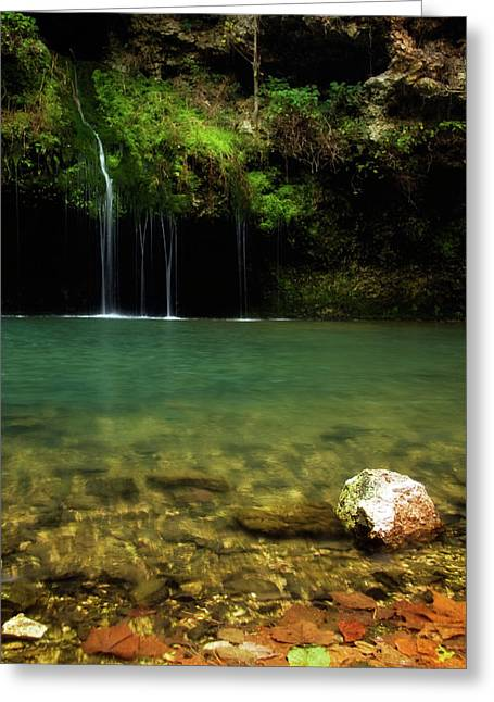 Dripping Springs Greeting Card