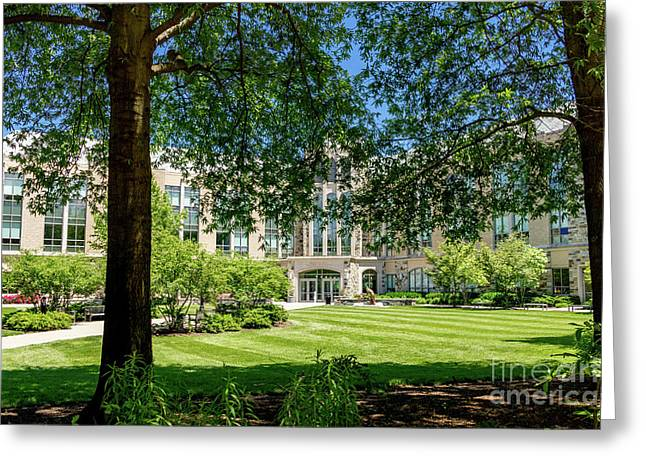 Driscoll Hall Greeting Card