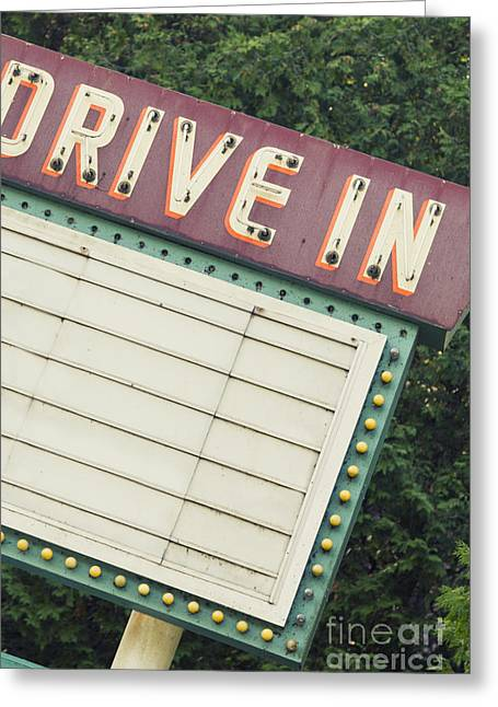 Drive In I Greeting Card