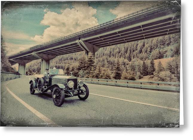 Drive To The Brenner Pass Greeting Card by Duschan Tomic