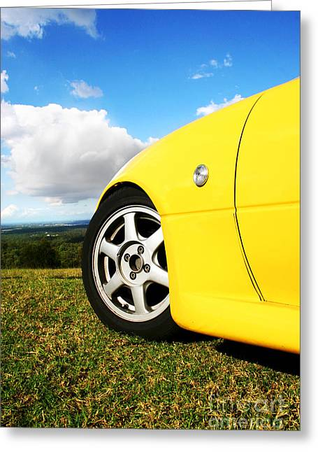 Driving Dreams Greeting Card by Jorgo Photography - Wall Art Gallery