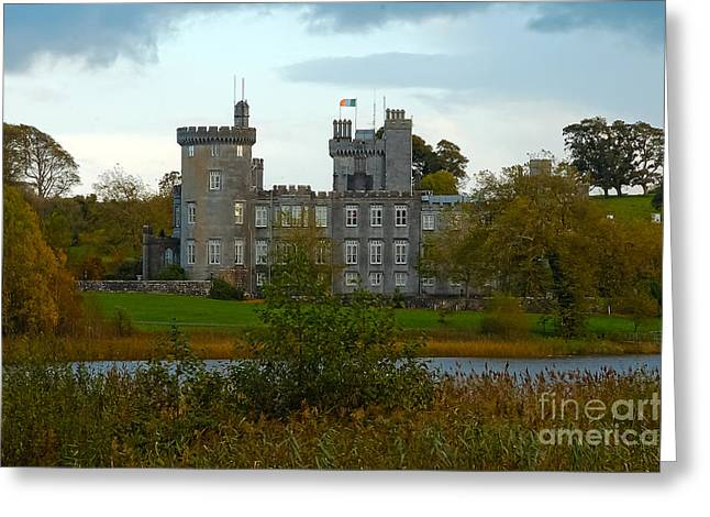Dromoland Castle Greeting Card by Beth Wolff