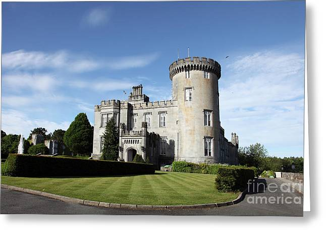 Dromoland Castle Co. Clare Greeting Card by Ros Drinkwater