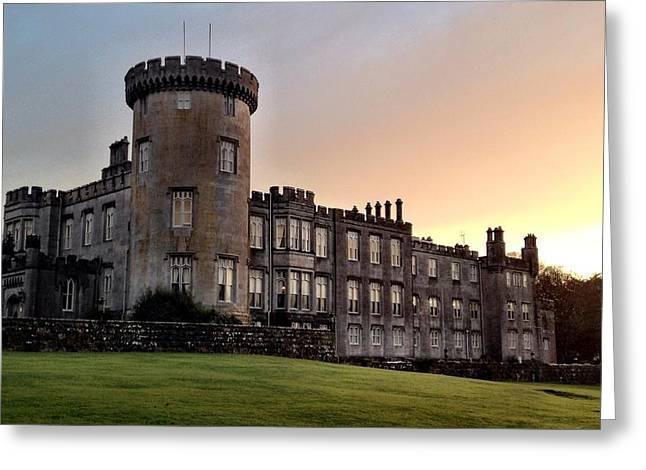 Dromoland Castle Greeting Card by Elizabeth Wuebker