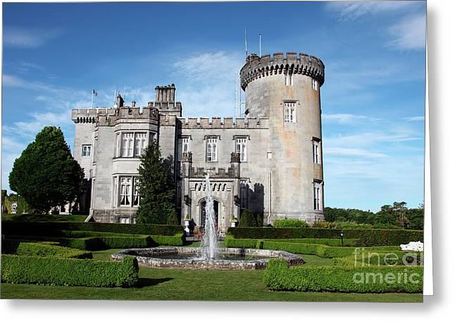 Dromoland Castle Greeting Card by Ros Drinkwater