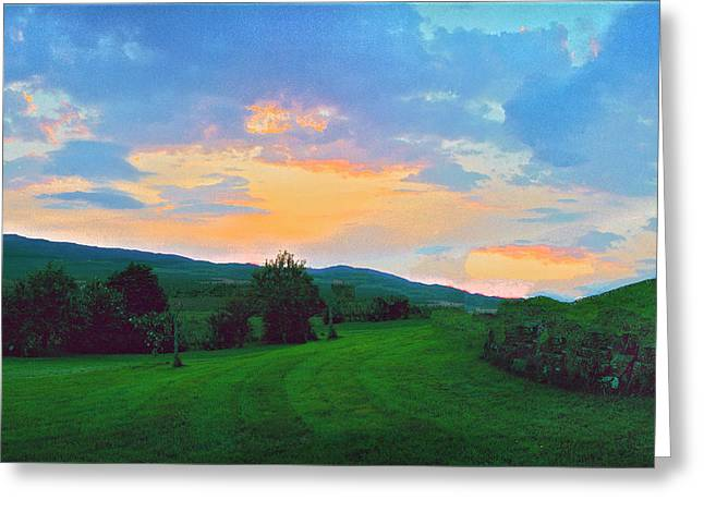 Drums At Dawn Greeting Card by Jan W Faul