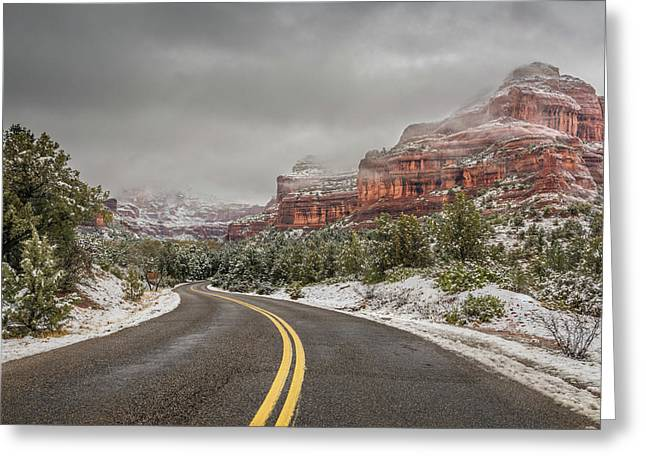 Boynton Canyon Road Greeting Card