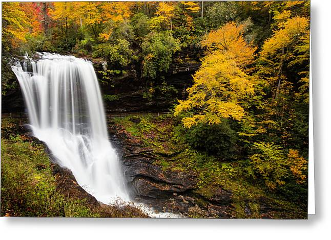 Dry Falls Greeting Card by Jim Neal