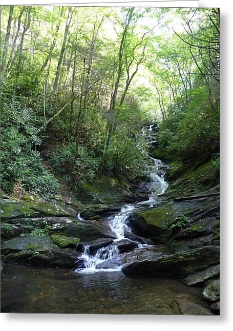 Dry Fork Falls Greeting Card
