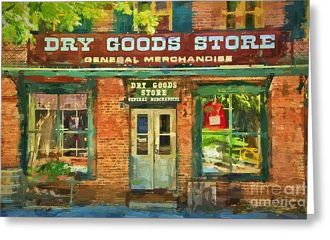 Dry Goods Greeting Card by Paul W Faust -  Impressions of Light