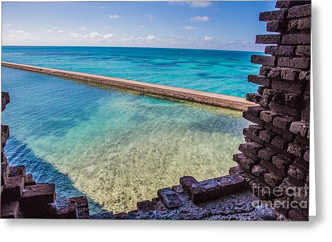Dry Tortugas 1 Greeting Card