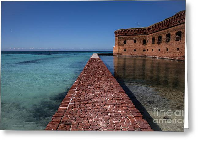 Dry Tortugas 4 Greeting Card