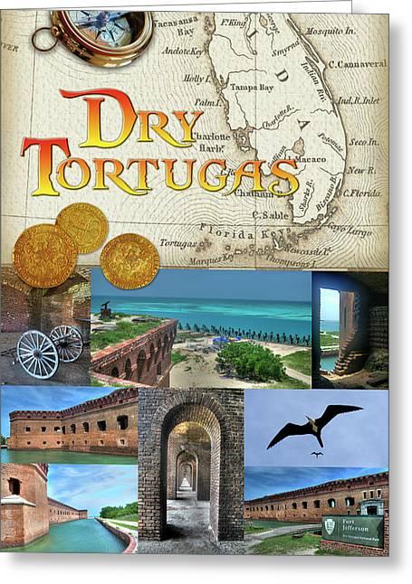 Dry Tortugas Greeting Card