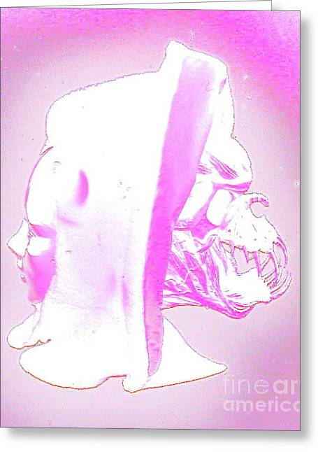 Duality Greeting Card by Xn Tyler