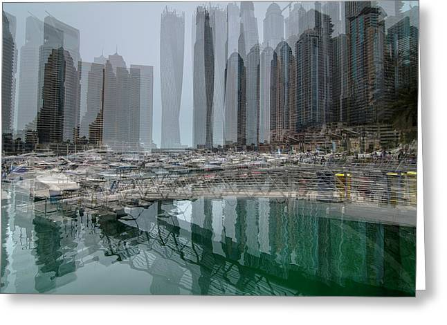 Dubai Marina  Greeting Card