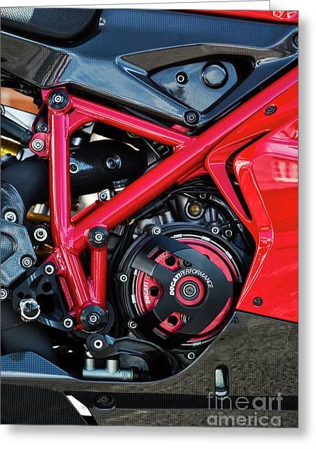 Ducati 1098r Greeting Card by Tim Gainey