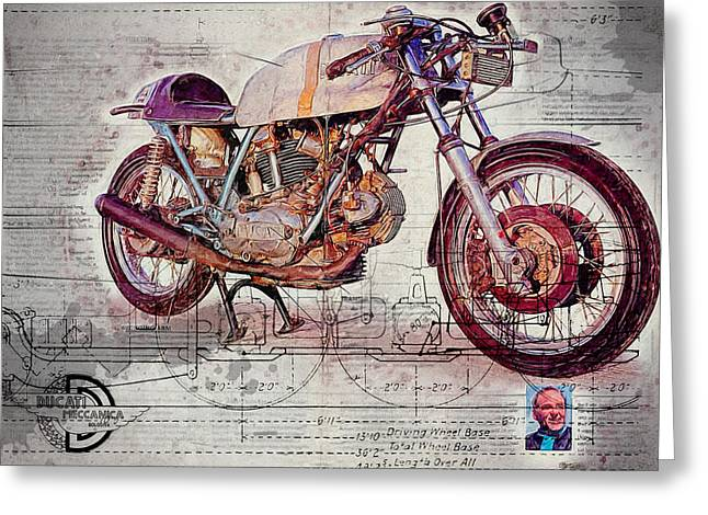 Ducati 750 Imola 1972 Greeting Card