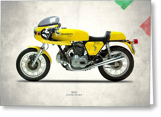The 900 Super Sport 1977 Greeting Card by Mark Rogan