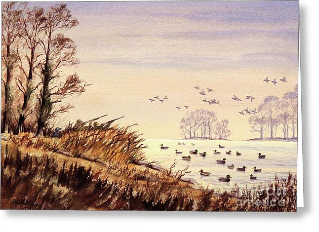Duck Hunting Times Greeting Card