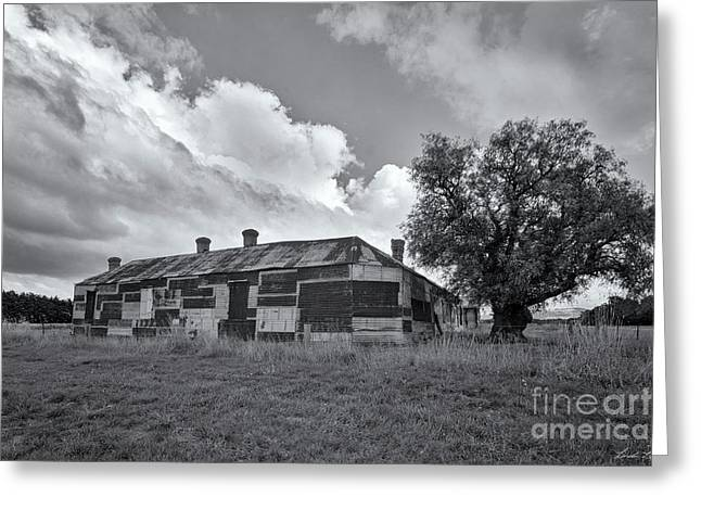 Greeting Card featuring the photograph Duckholes Hotel by Linda Lees