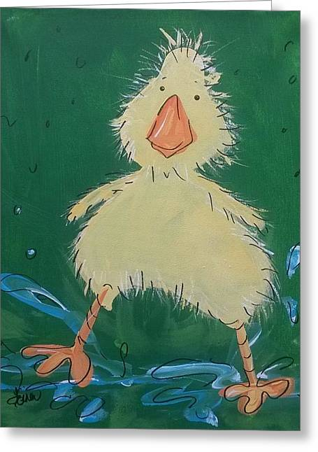 Duckling 1 Greeting Card