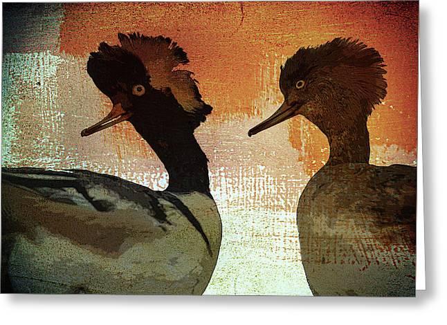 Duckology Greeting Card