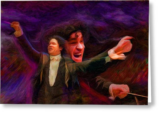 Dudamel Greeting Card