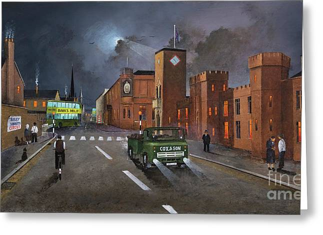 Dudley, Capital Of The Black Country Greeting Card