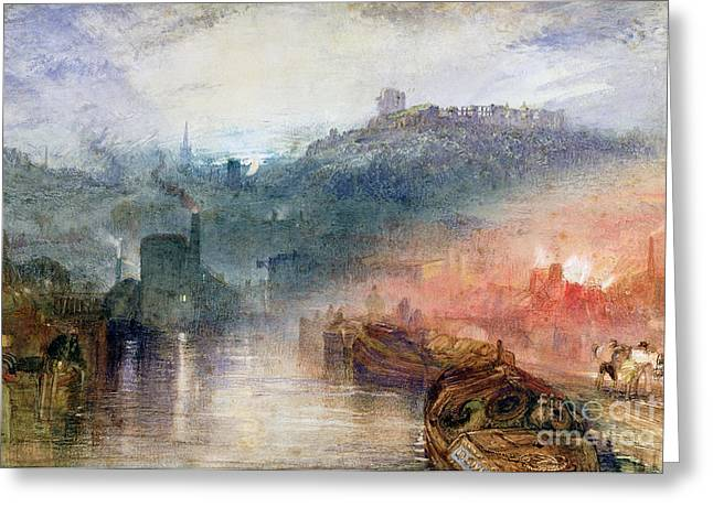 Dudley Greeting Card by Joseph Mallord William Turner