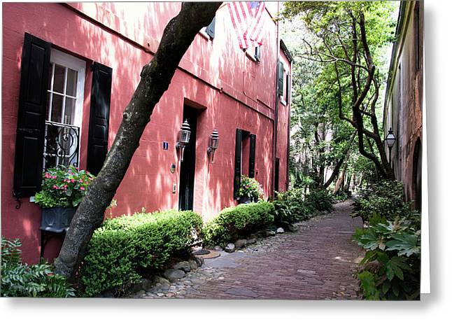 Dueler's Alley Greeting Card