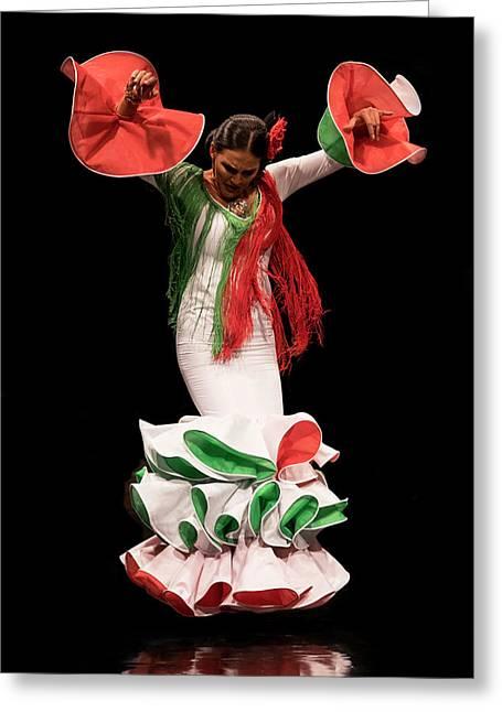 Duende Flamenco Greeting Card
