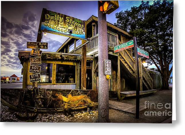 Duffy Street Seafood Shack Greeting Card