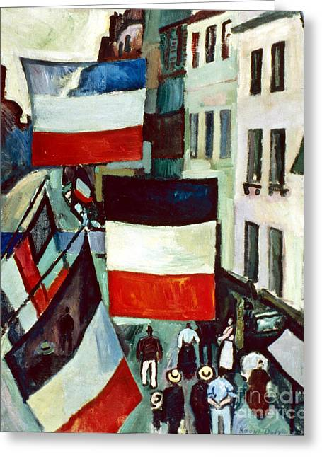 Dufy: Flags, 1906 Greeting Card by Granger