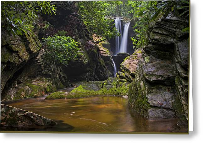 Dugger Falls Greeting Card