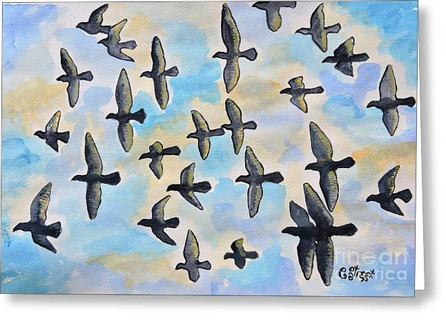 Duif's Doves Greeting Card