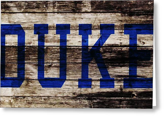 Duke Blue Devils 5b Greeting Card