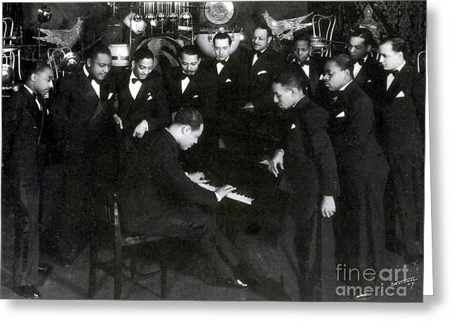 Duke Ellington And Cotton Club Greeting Card