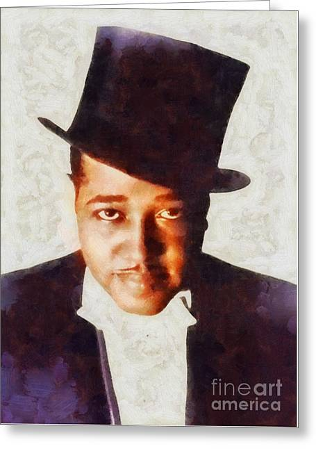 Duke Ellington, Musical Legend Greeting Card