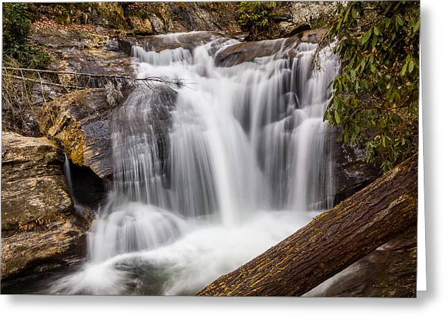 Dukes Creek Falls Greeting Card by Michael Sussman