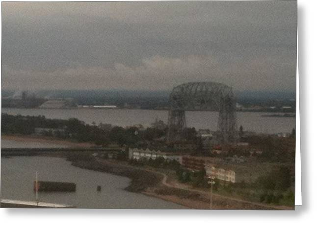 Duluth Mn Greeting Card by Ana  Conway
