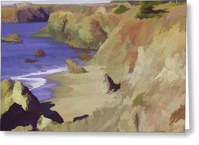 Above Bodega Greeting Card