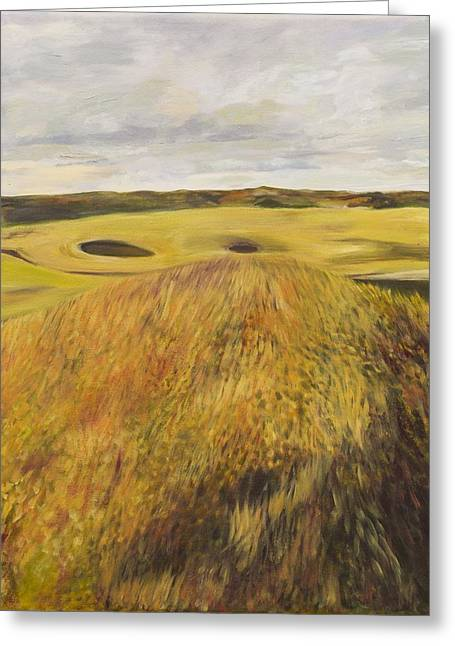 Dundonald Golf Course Greeting Card