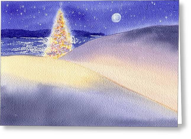 Dune Noel Greeting Card by Joseph Gallant