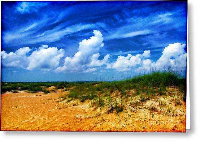Dunes At Bald Head Island Greeting Card