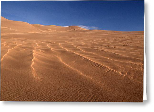 Greeting Card featuring the photograph Dunes Reward.. by Al Swasey