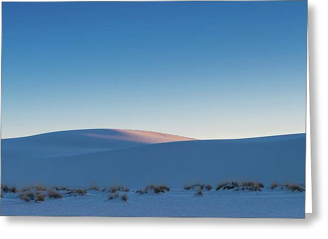 Dunes Sunset Greeting Card by Joseph Smith