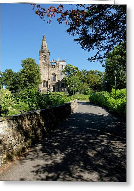 Greeting Card featuring the photograph Dunfermline Abbey by Jeremy Lavender Photography
