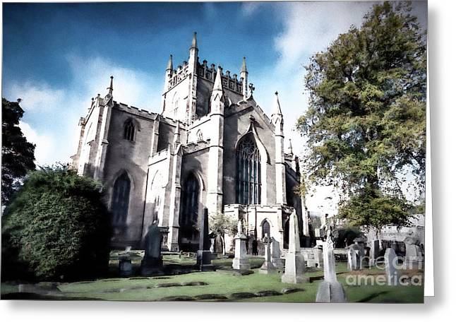Greeting Card featuring the photograph Dunfermline by Anthony Baatz